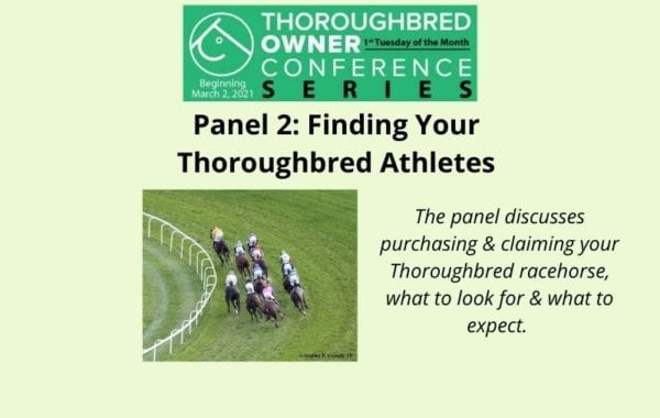 Panel 2 Finding Your Thoroughbred Athletes